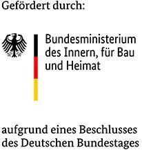 Bundesministerium des Innern, für Bau und Heimat Logo